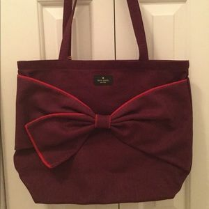 kate spade Bags - Brand new bow bag. Perfect for the holidays.